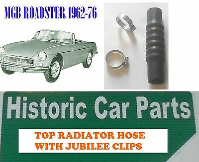 MGB GT and Roadster 1800 1962-1971 High Quality Cooling Hose Set