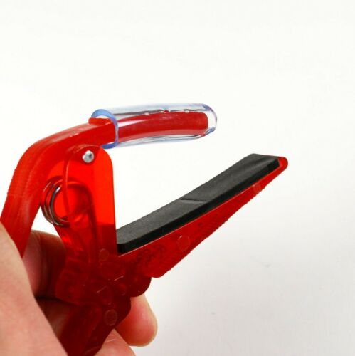 D25 New Quick Change Acoustic// Electric Guitar Capo lightweight Red