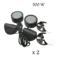 2 Pairs (4 Tweeter) Of Xxx Model 500w Super High Frequency Mini Car Tweeters