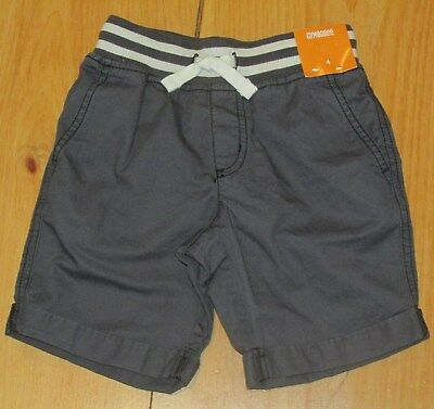 NWT Gymboree Boy shorts Pull on cotton Outlet Black
