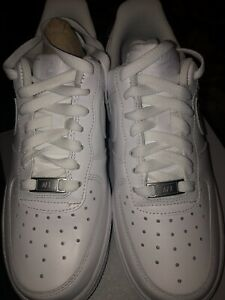 New Nike Air Force 1 07 Le Low Triple All White 315115 112 Womens
