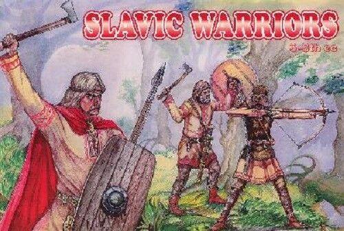 6//8ème Siècle ORION 1//72 n° 72028 48 Figurines GUERRIERS SLAVES