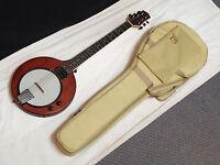 Gold Tone Eb-6 Electric Solid Body 6-string Banjitar Banjo Guitar W/ Bag