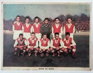 Ancienne Photo officielle du STADE DE REIMS sur carton 24 x 18 cm n°2/3