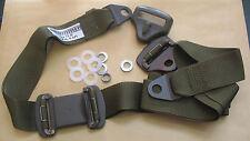 3 Punkt Sicherheitsgurt 2 Stück GRAMMER oliv Typ S 2.01 Oldtimer H-Kennzeichen