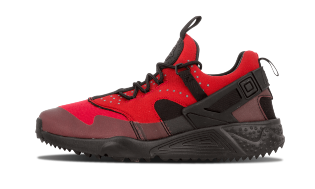 Size 10 - Nike Air Huarache Utility Gym Red Black