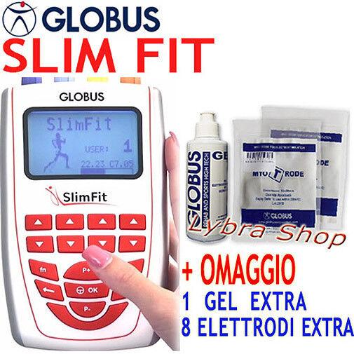 Globus SLIM FIT elettrostimolatore Drenaggio Sport Bellezza Tens Rehab Slimfit