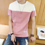 New-Men-039-s-Slim-O-Neck-Short-Sleeve-Tee-T-shirt-Fashion-Casual-Tops-Blouse thumbnail 1