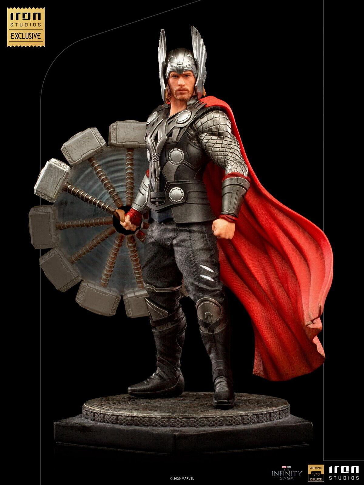 Iron Studios Thor 1/10 Statue Model Figurine Figure Display 9in. Avengers Series on eBay thumbnail