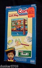 TALKING CORKY DOLL CRICKET'S BROTHER BOOK/TAPE LET'S PLAY OUTDOORS IN BOX