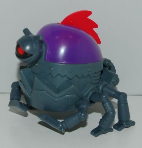 "2010 Bulldog brainbot Robot 3.25/"" McDonalds #2 MEGAMIND Action Figure Movie Toy"