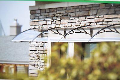 Vordächer Fassade HaustÜr Fenster Vordach Markise TÜrvordach Pultvordach Überdachung 4,50 X1,00m Verkaufsrabatt 50-70%