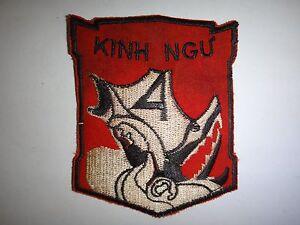 Vietnam-Guerra-Toppa-Arvn-4th-Marino-Fanteria-Battaglione-034-Kinh-Ngu-034