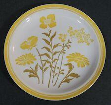 "Jamestown China Ironstone Sunny Yellow Flower Dinner Plate 10 1/4"" USA EUC"