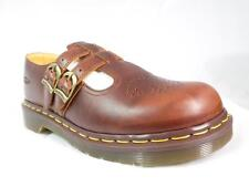DR MARTENS 8065 MIE ENGLAND MADE TAN GREASED LEATHER TWIN STRAP MARY JANES UK 7