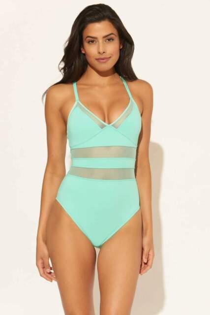 Women/'s Bleu Rod Beattie Don/'t Mesh With Me Swimdress