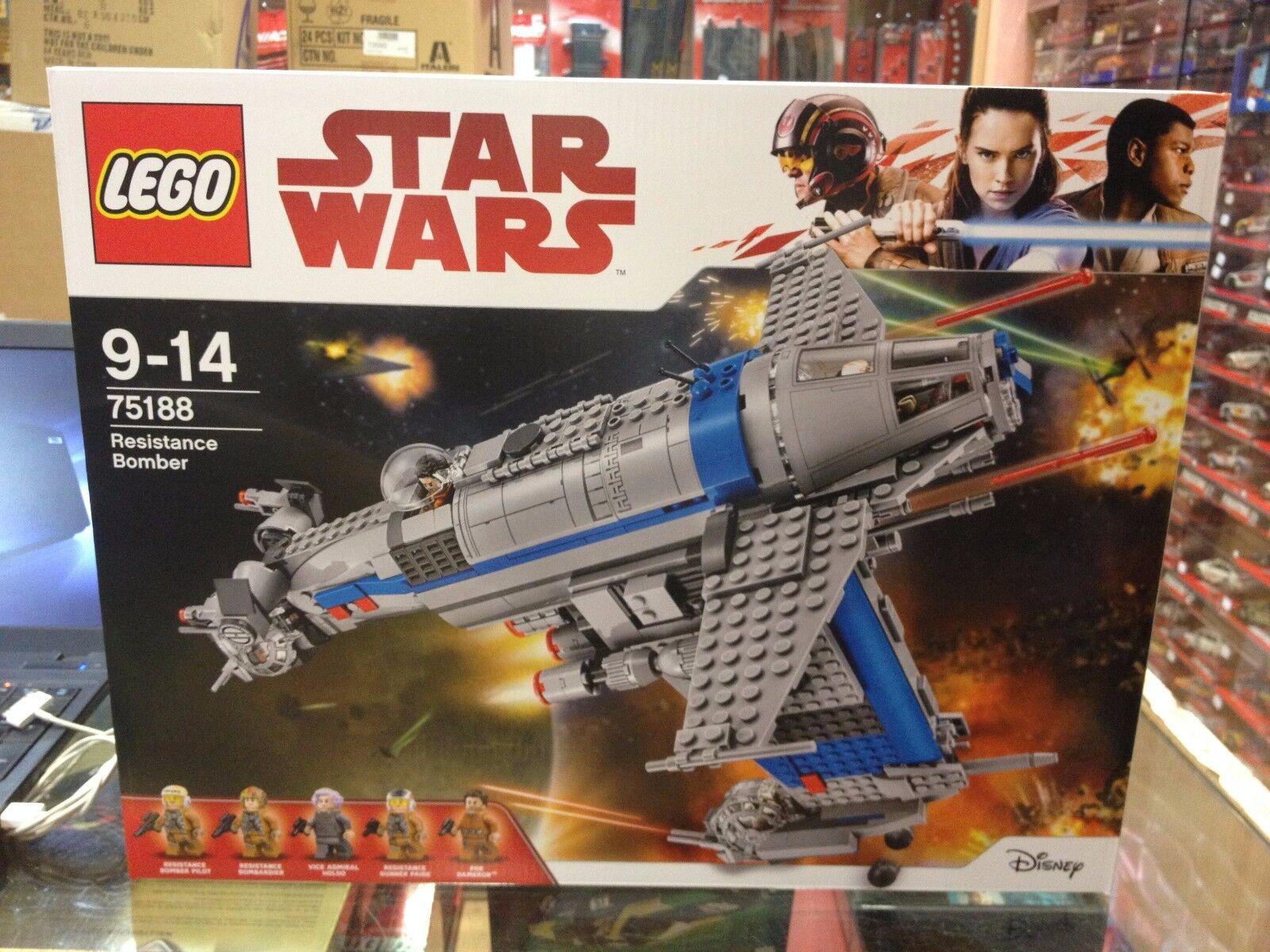 RESISTANCE BOMBER STAR WARS WARS WARS LEGO 75188 452e04