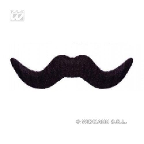 Moustache Bigote BAFFI ADESIVI PER COSTUMI TRAVESTIMENTI WIDMANN modelli vari