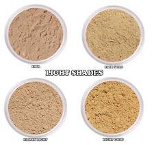 Mica Free Mineral Powder Foundation w/Aloe Vera Light Shades Samples