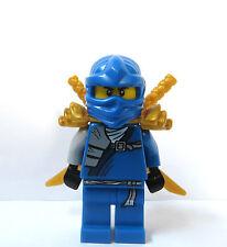Lego Blue Ninja Minifigure Figure Gold Armour & 2  Samurai Jay Ninjago