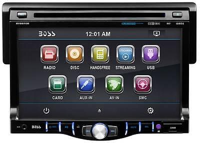 "Boss BV8970B 7"" Touchscreen Monitor Bluetooth Audio Streaming DVD/MP3"