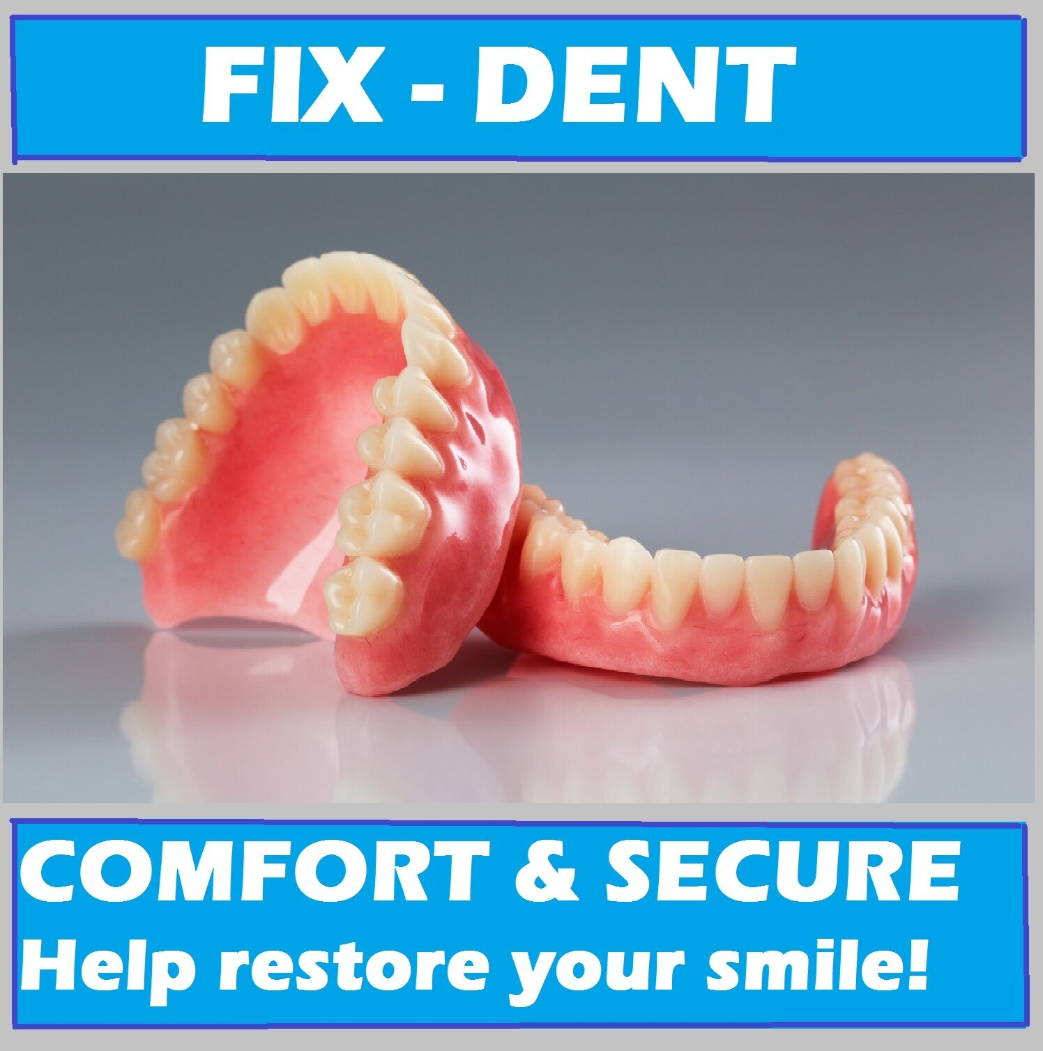Fix dent professional soft denture reline 3 kits easy and safe ebay resntentobalflowflowcomponentncel solutioingenieria Image collections