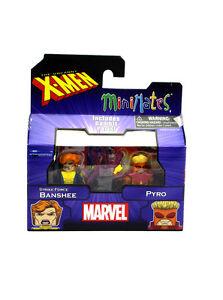 Marvel-Minimates-Strike-Force-Pyro-amp-Banshee-Series-60-X-Men-Figures-New-In-Box