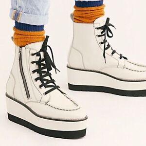 Free People Maverick wedge Boots Size 9