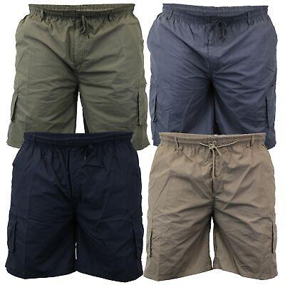 Duke D555 Mens King Size Big Tall Larry Cargo Knee Length Combat Casual Shorts