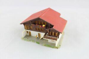 Marque De Tendance Kibri 6860 (36860) Chalet Les Diablerets Alpenhaus Piste Z (z360)-afficher Le Titre D'origine Pure Blancheur