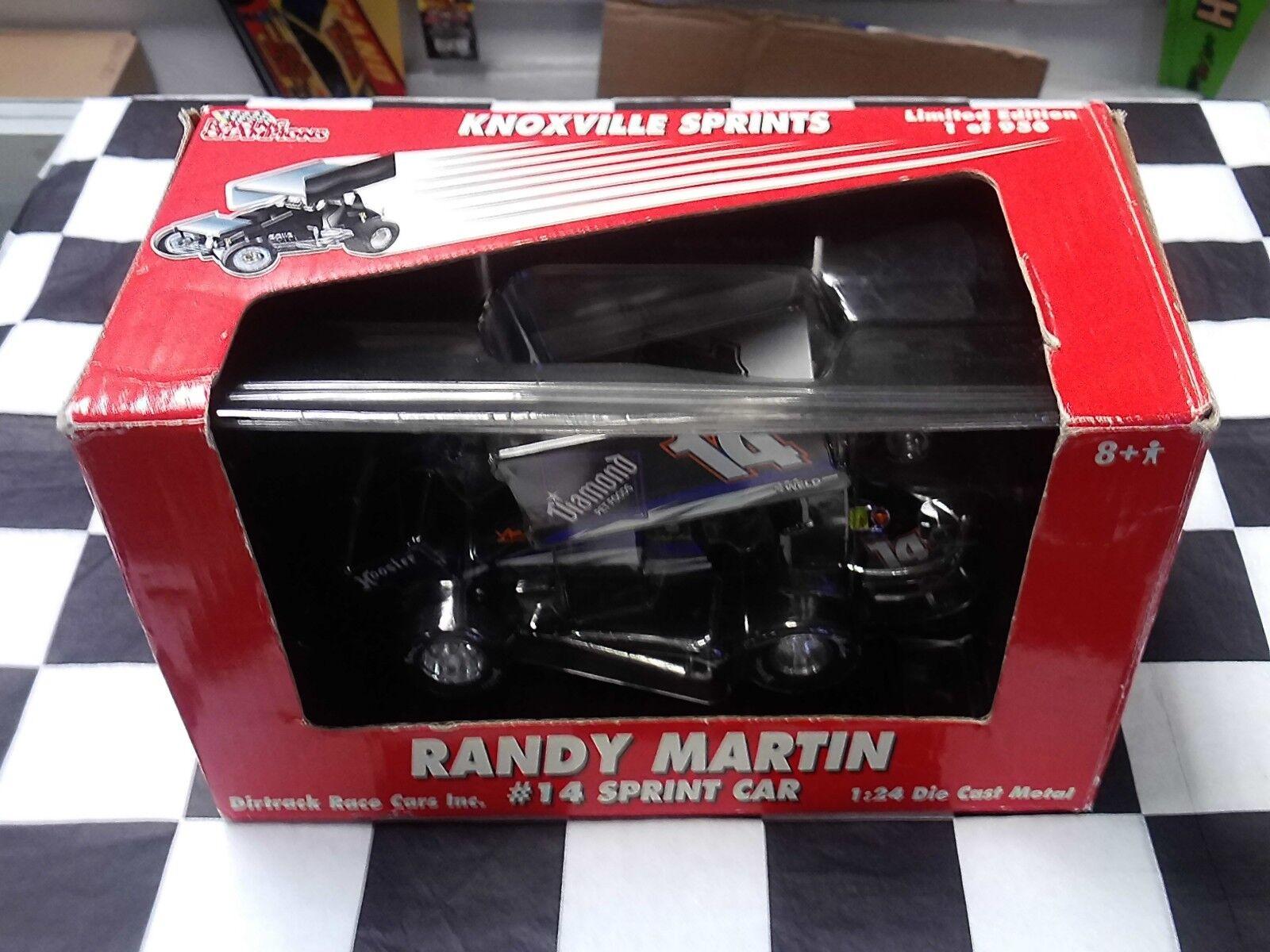 Randy Martin Sprint Coche 2004 1 24 Sprint Coche Extreme RC2 marcas Autografiado