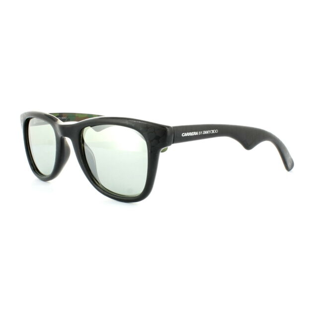 576442c2e746 Carrera by Jimmy Choo Sunglasses 6000 jcm Ogy J5 Black Camo Grey Silver  Mirror for sale online