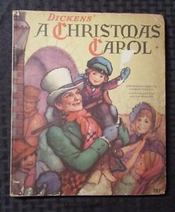 1939 Vintage A CHRISTMAS CAROL Being A Ghost Story by Dickens Whitman #797 VG-   eBay