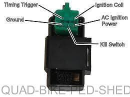 5 pin standard cdi quadbike 50cc 70cc 90cc 110cc 125cc