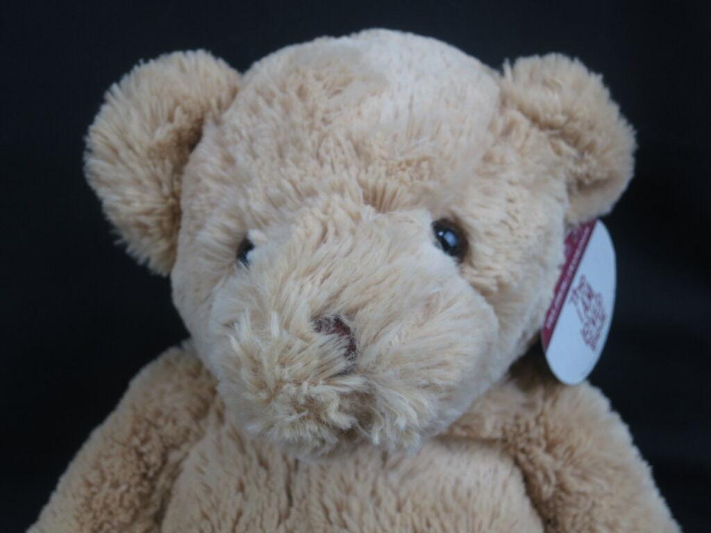 BIG NEW HELZBERG DIAMOND LIGHT braun TEDDY SPARKLE THE BEAR PLUSH STUFFED ANIMAL