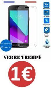 Pr-Samsung-galaxy-X-Cover-4-Xcover-4-vitre-protection-verre-trempe-film-ecran