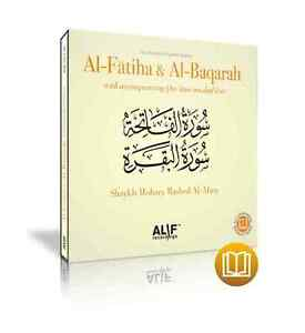 Al-Fatiha & Al-Baqarah by MISHARY AL-AFASY in Ḥafs ʿan ʿĀsim.