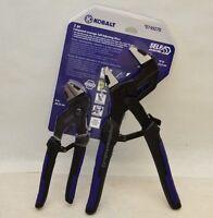 Kobalt 2pc Compound Leverage Self Adjusting Pliers Parallel Jaw Strong Grip Vise