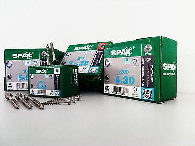 Universalschrauben A2 Senkkopf Torx Spax ABC