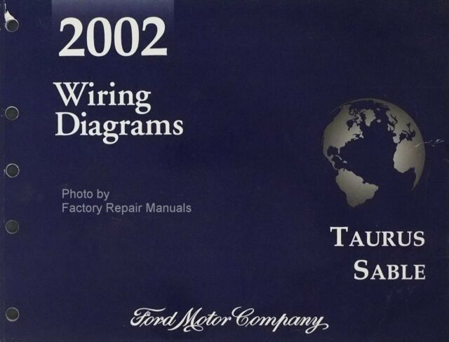 2002 Ford Taurus Sable Workshop Service Manual Wiring