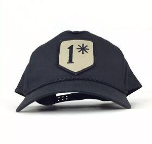 1   Asterisk Morale Tactical Patch Black Baseball Cap Hat SnapBack ... cf7408bfc78
