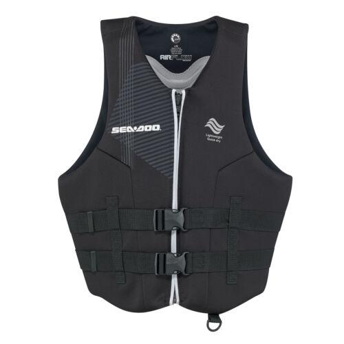 Life Jacket  Vest Sea-Doo Men/'s Ecoprene Airflow PFD Black