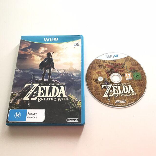 The Legend of Zelda: Breath of the Wild - Nintendo Wii U - AUS Stock