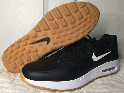 Nike Air Max 1g Black White Gum Bottom Spikeless Golf Shoes Mens 12 Aq0863 001 Ebay