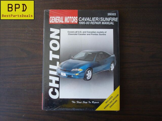 repair manual chilton 28322 ebay 1994 pontiac sunbird 1995 pontiac sunfire diagram #46