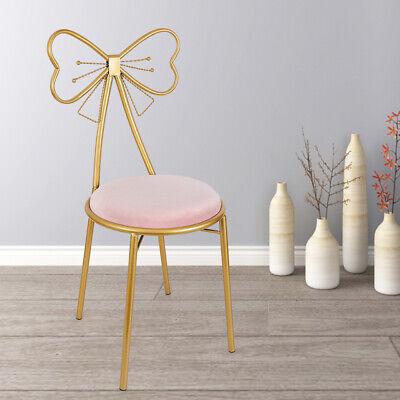 Erfly Backrest Chair Pink Velvet