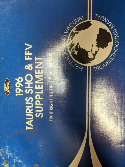 1996 Ford Taurus Sho Ffv Electrical Wiring Diagrams