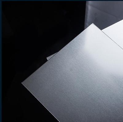 "9.84/"" 9.84/"" 5052 Aluminum Sheet Metal Plate *250mm US Stock 2pcs 1.2mm*250mm"