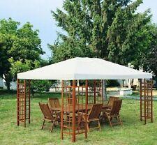 Gazebo Orchidea 3x3 mcon struttura in legno e copertura in p