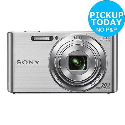 Sony Cybershot W830 20MP 720p 8x Zoom Compact Digital Camera - Silver